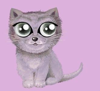Acoger a un gato de raza shiny chartreux